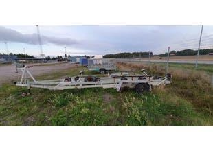 Begagnad båtvagn 2000kg