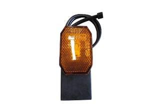 Sidomarkeringslykta Flexipoint II LED på gummifot+0,5m kabel