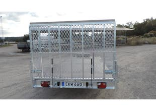Bak-lucka/ramp HB4  sträckmetall 1,25m