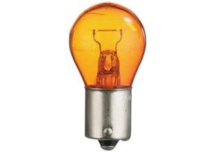 Glödlampa klot gul 12V 21w