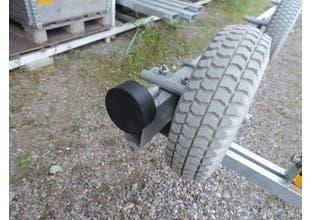 Gummiskydd till båtslip 12-2000 75x30mm gummi/par