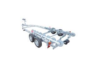 Båtvagn för motorbåtar med stegskrov  5,5-7,2m & 2000kg