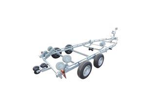 Båtvagn motorbåtar med V-skrov 5,9-7,6m & 3000kg