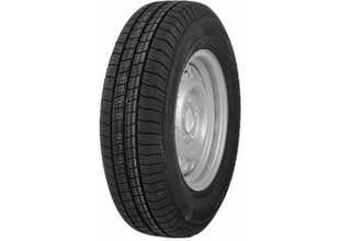 S-hjul 155R13 C8 5B 600kg/st